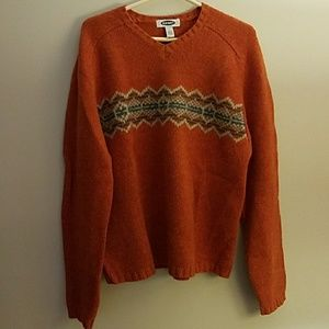 Men's Old Navy large lambswool sweater